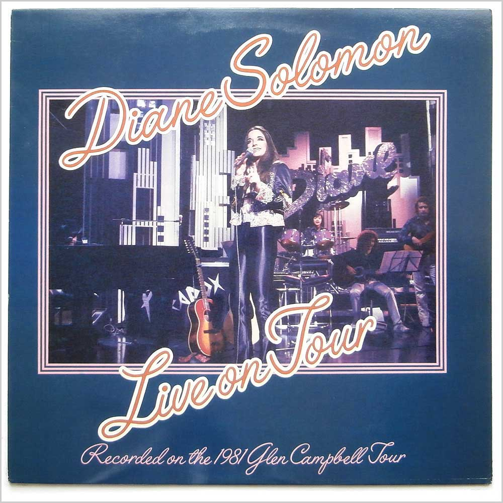 DIANE SOLOMON - Live On Tour - 33T