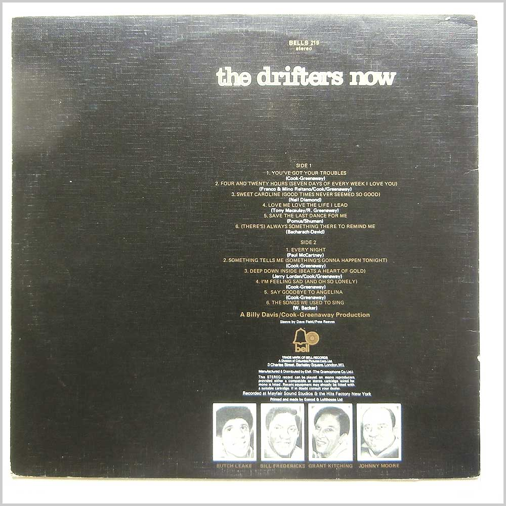 The Drifters - The Drifters Now (BELLS 219)