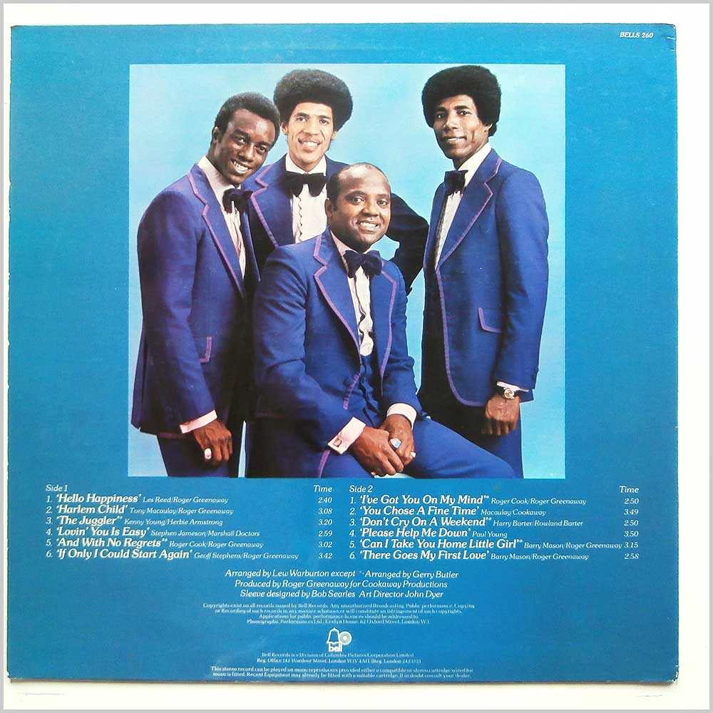 The Drifters - There Goes My First Love (BELLS 260)