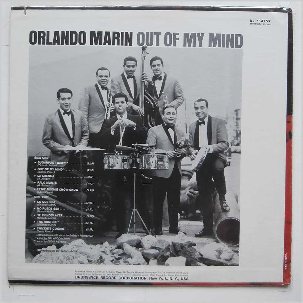 Orlando Marin - Out Of My Mind (BL 754159)