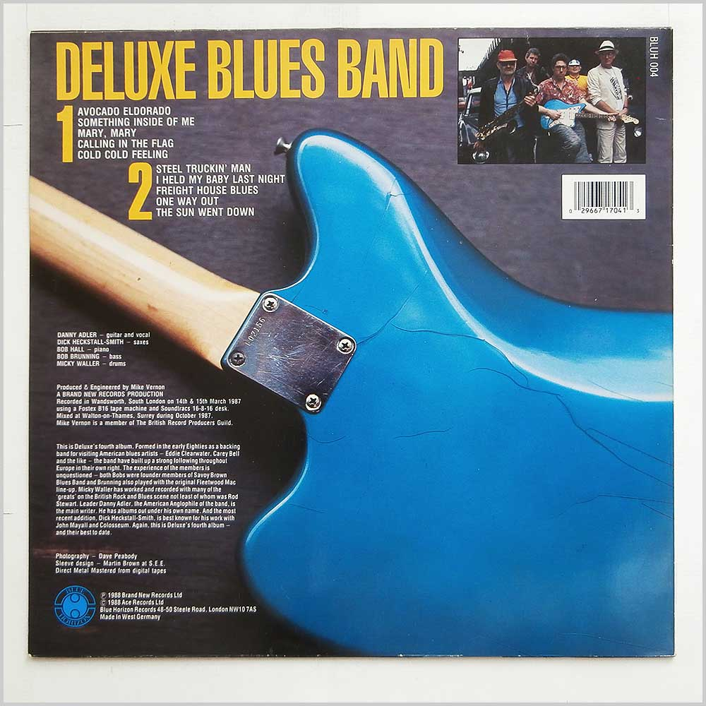 Deluxe Blues Band - Deluxe Blues Band (BLUH 004)
