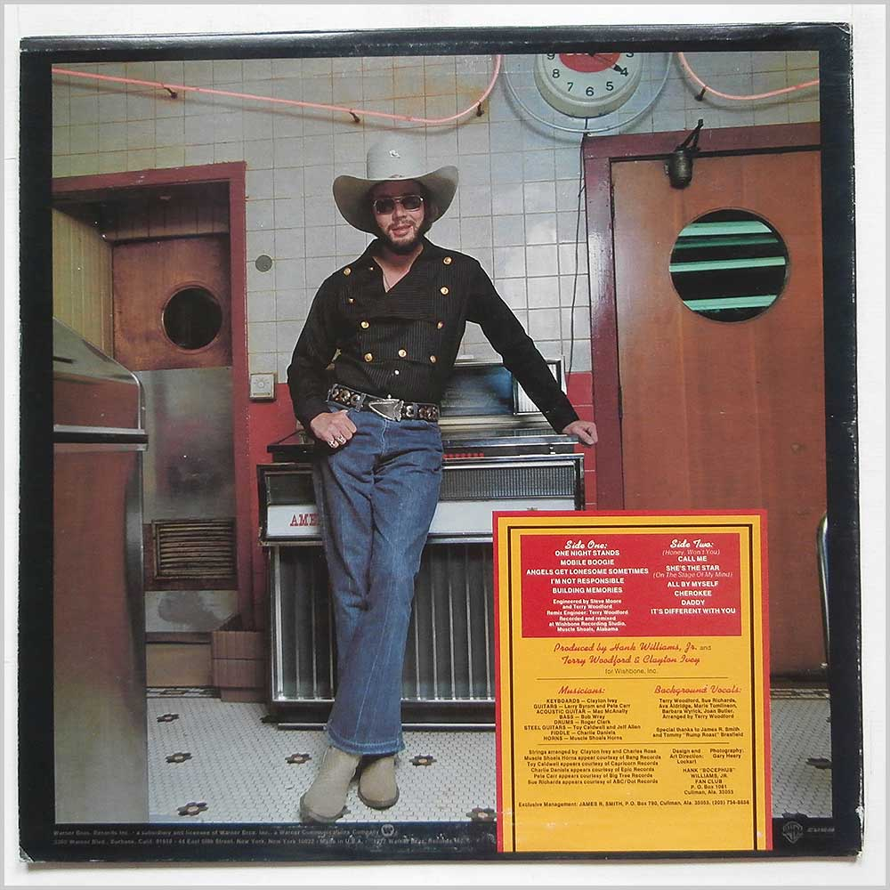 Hank Williams Jr - One Night Stands (BS 2988)