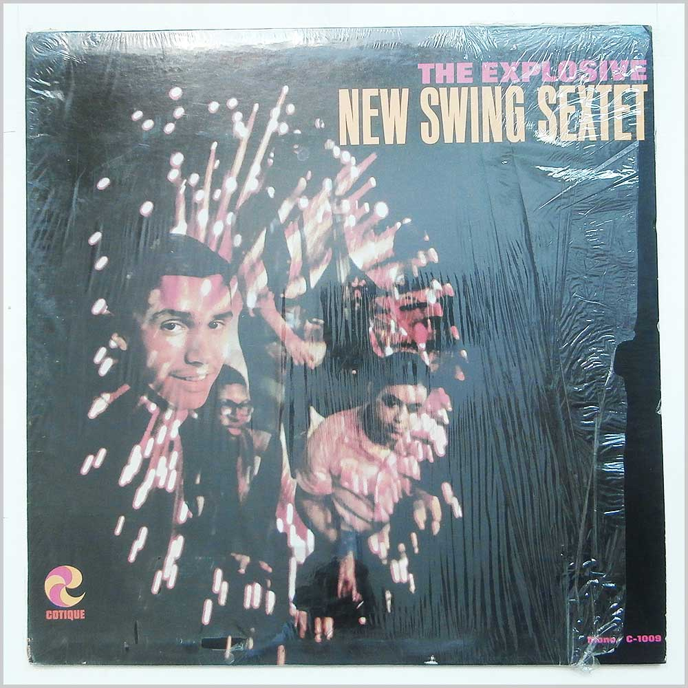 New Swing Sextet - The Explosive New Swing Sextet (C-1009)