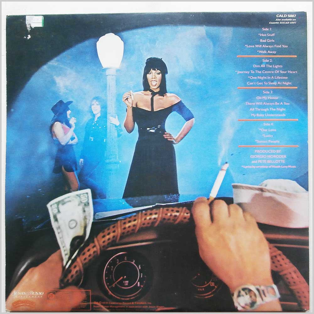 Donna Summer - Bad Girls (CALD 5007)
