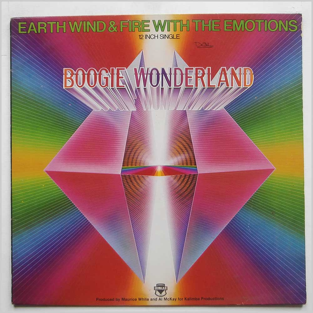 EARTH, WIND AND FIRE - Boogie Wonderland - 12 inch 45 rpm
