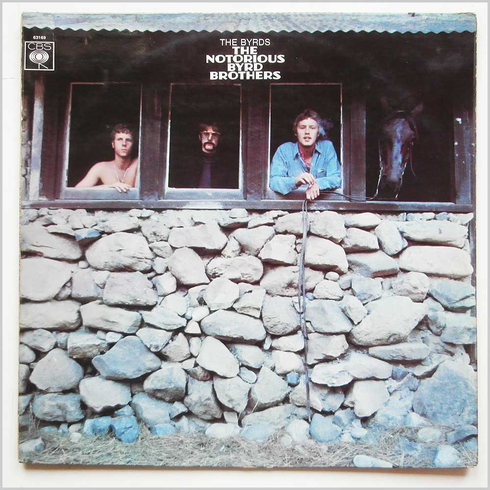 The Byrds - The Notorious Byrd Brothers (CBS 63169)
