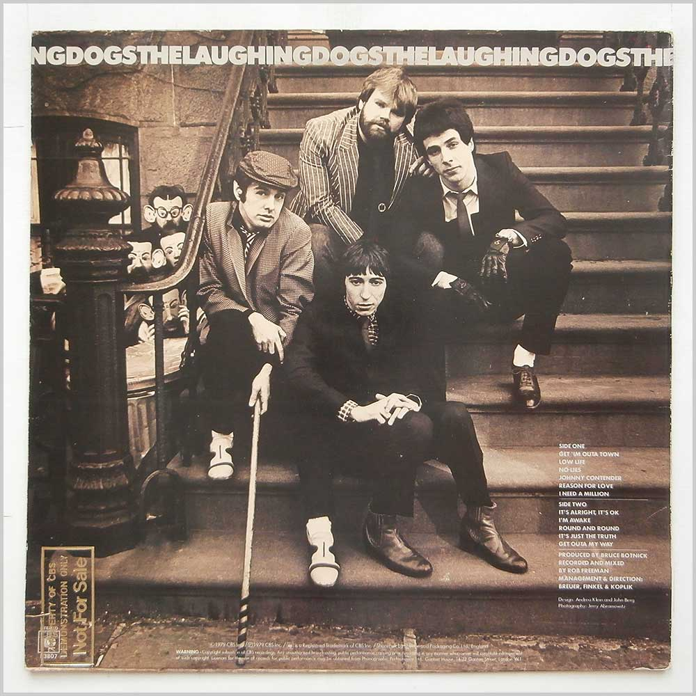 The Laughing Dogs - The Laughing Dogs (CBS 83807)