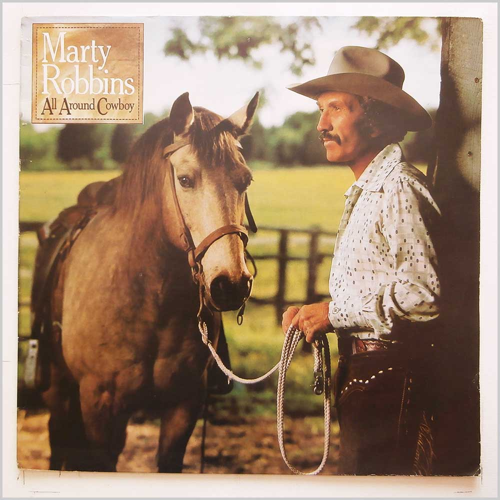 Marty Robbins - All Around Cowboy (CBS 83917)