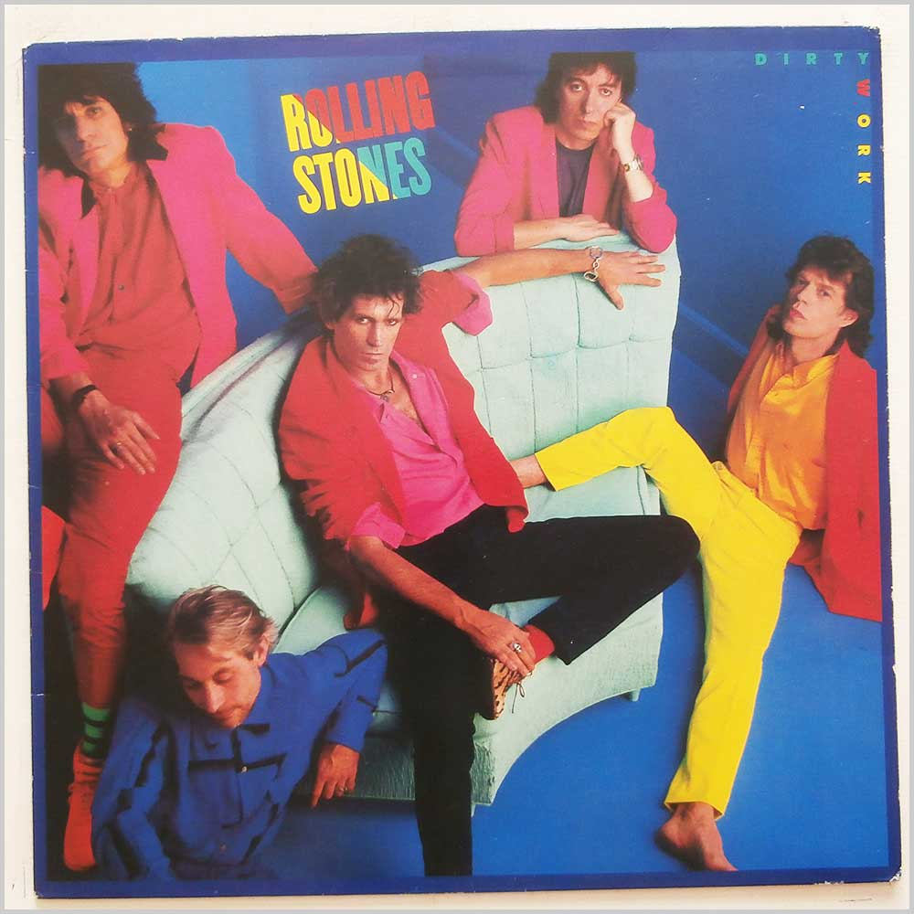 Rolling Stones - Dirty Work (CBS 86321)