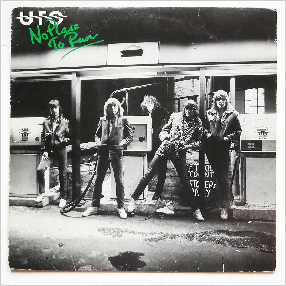 UFO - No Place To Run (CDL 1239)