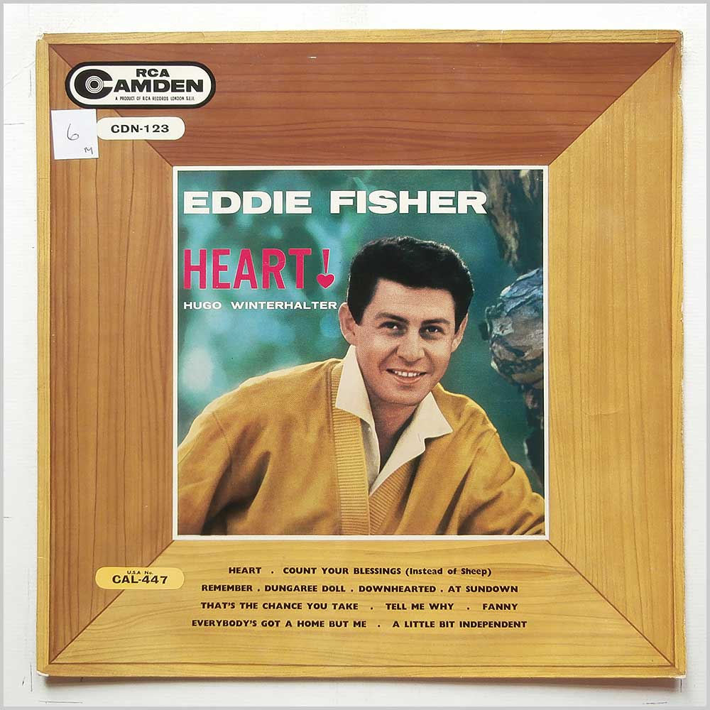 Eddie Fisher - Heart (CDN-123)