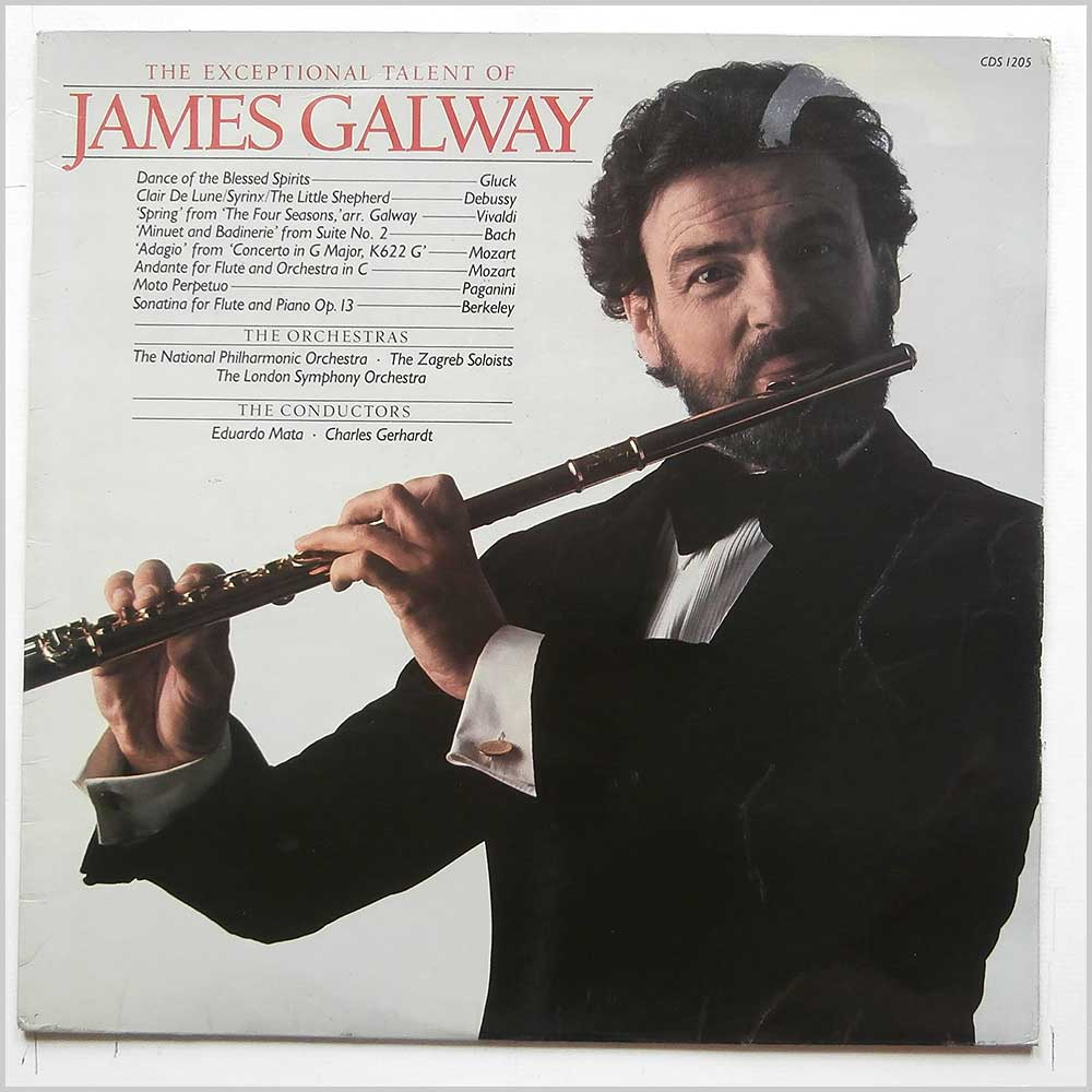 James Galway - The Exceptional Talent Of James Galway (CDS 1205)