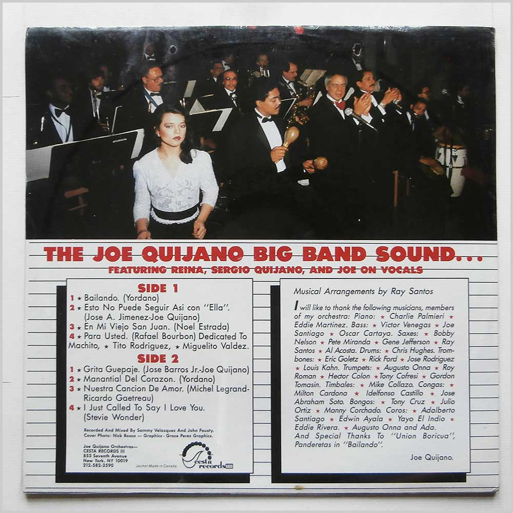 Joe Quijano - The Worlds Most Exciting Latin Orchestra Review (CES LP 20 PLUS)