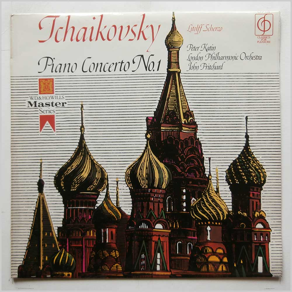 Peter Katin, London Philharmonic Orchestra - Tchaikovksky: Piano Concerto No.1 (CFP 115)