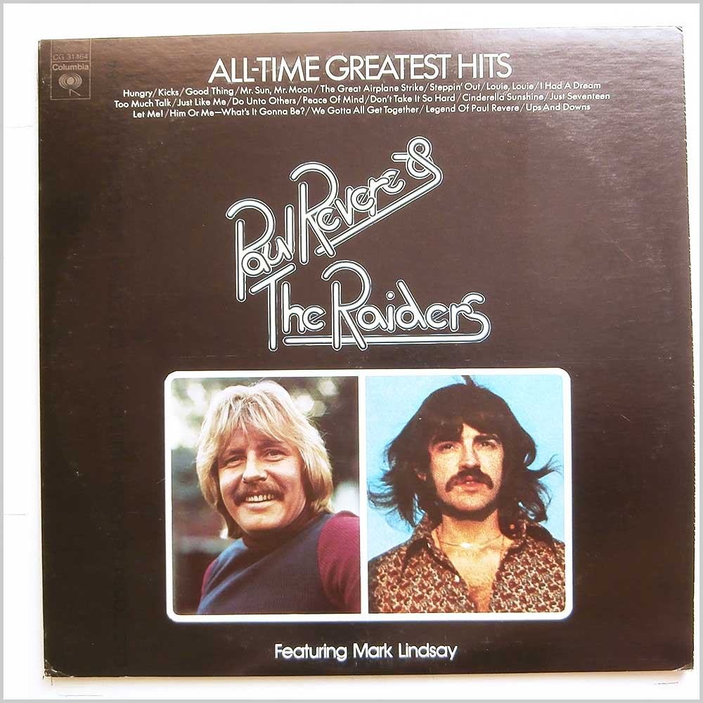 Paul Revere and The Raiders - All-Time Greatest Hits (CG 31464)