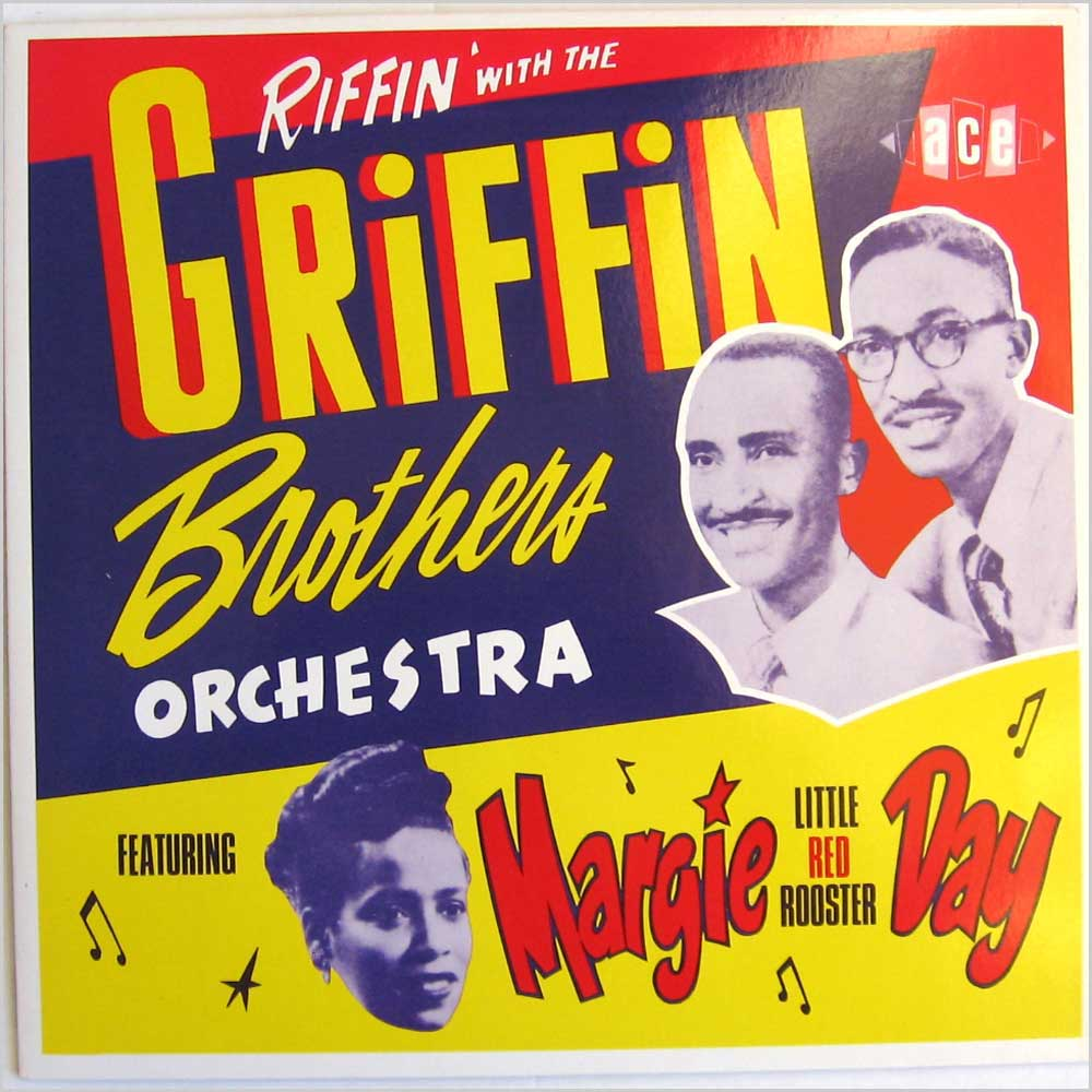 Griffin Brothers - Riffin With The Griffin Brothers Orchestra - rare music LP records for sale