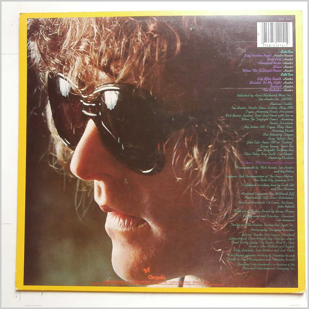 Ian Hunter - You're Never Alone With A Schizophrenic (CHR 1214)