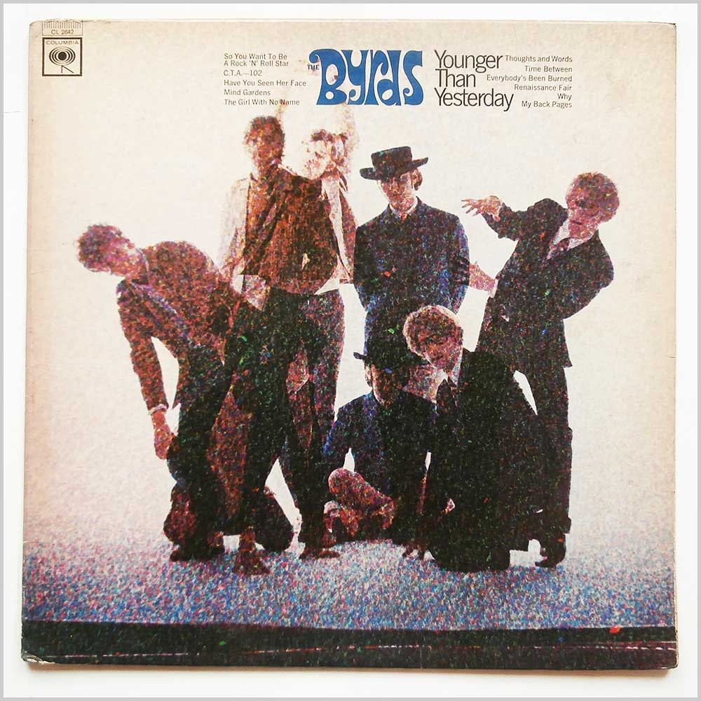 The Byrds - Younger Than Yesteray (CL 2642)