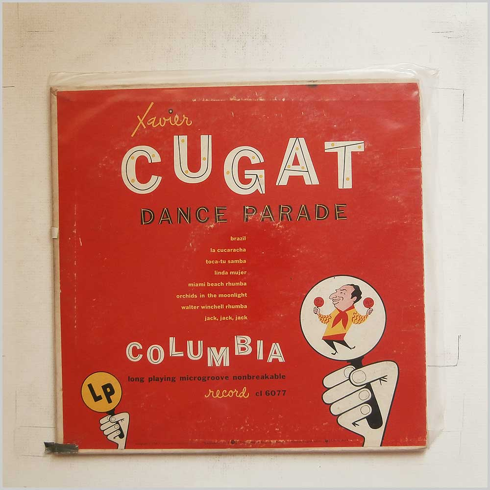 Xavier Cugat and His Orchestra - Xavier Cugat Dance Parade (CL 6077)