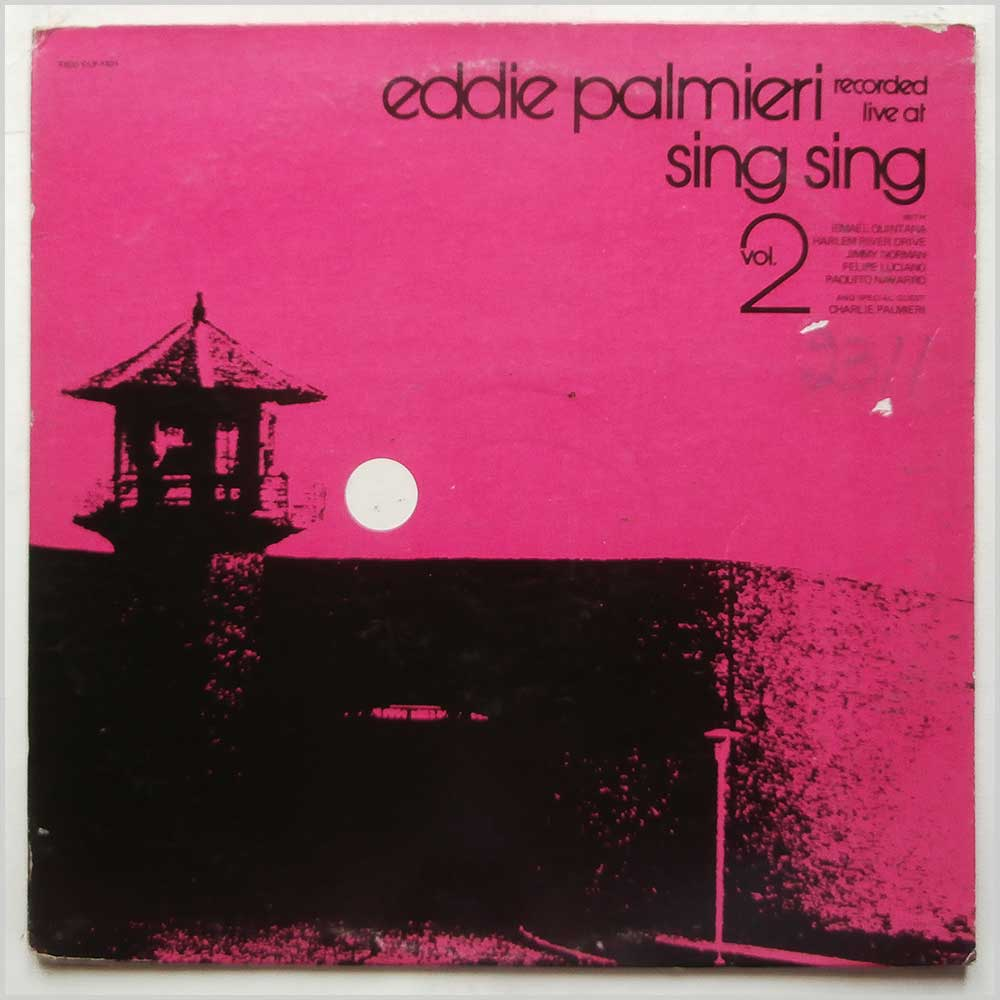 Eddie Palmieri - Eddie Palmieri Recorded Live At Sing Sing Vol. 2 (CLP-1321)
