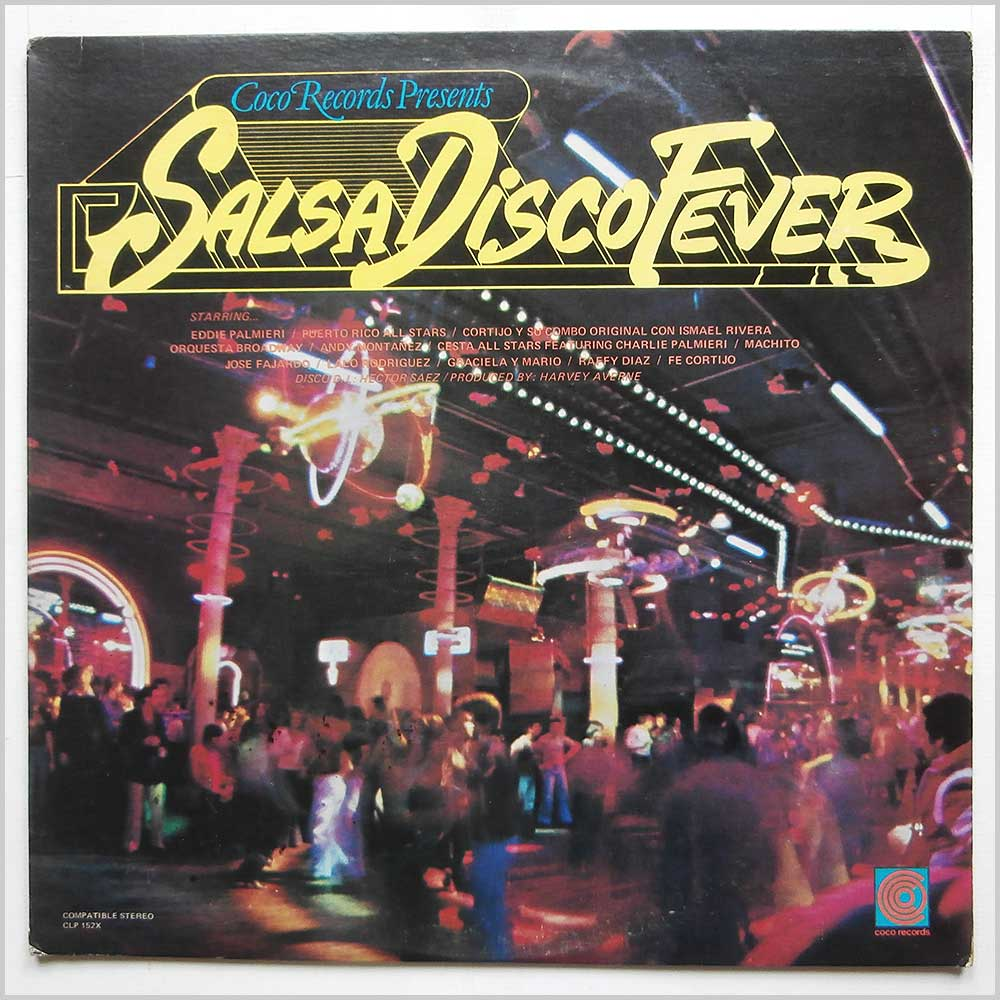 Various - Salsa Disco Fever (CLP 152X)