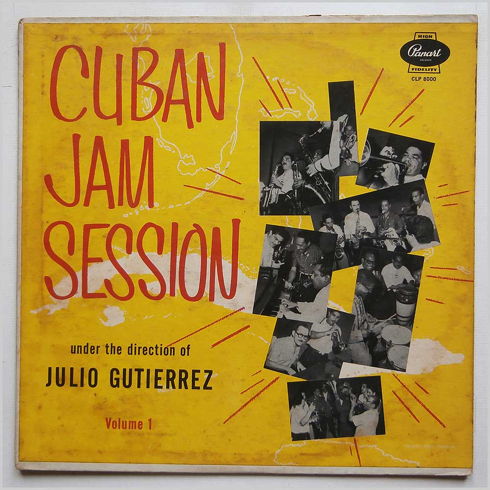 Julio Gutierrez - Cuban Jam Session Vol. 1 (CLP 8000)