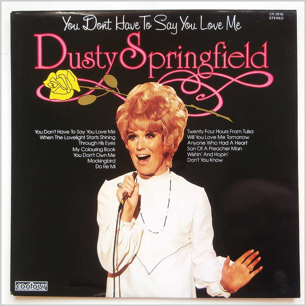 Dusty Springfield - You Don't Have To Say You Love Me (CN 2016)