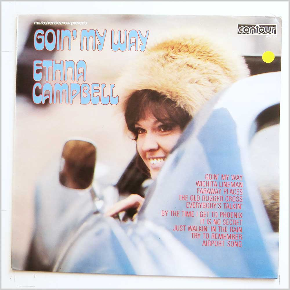 Ethna Campbell - Goin' My Way (CONTOUR 2870 130)
