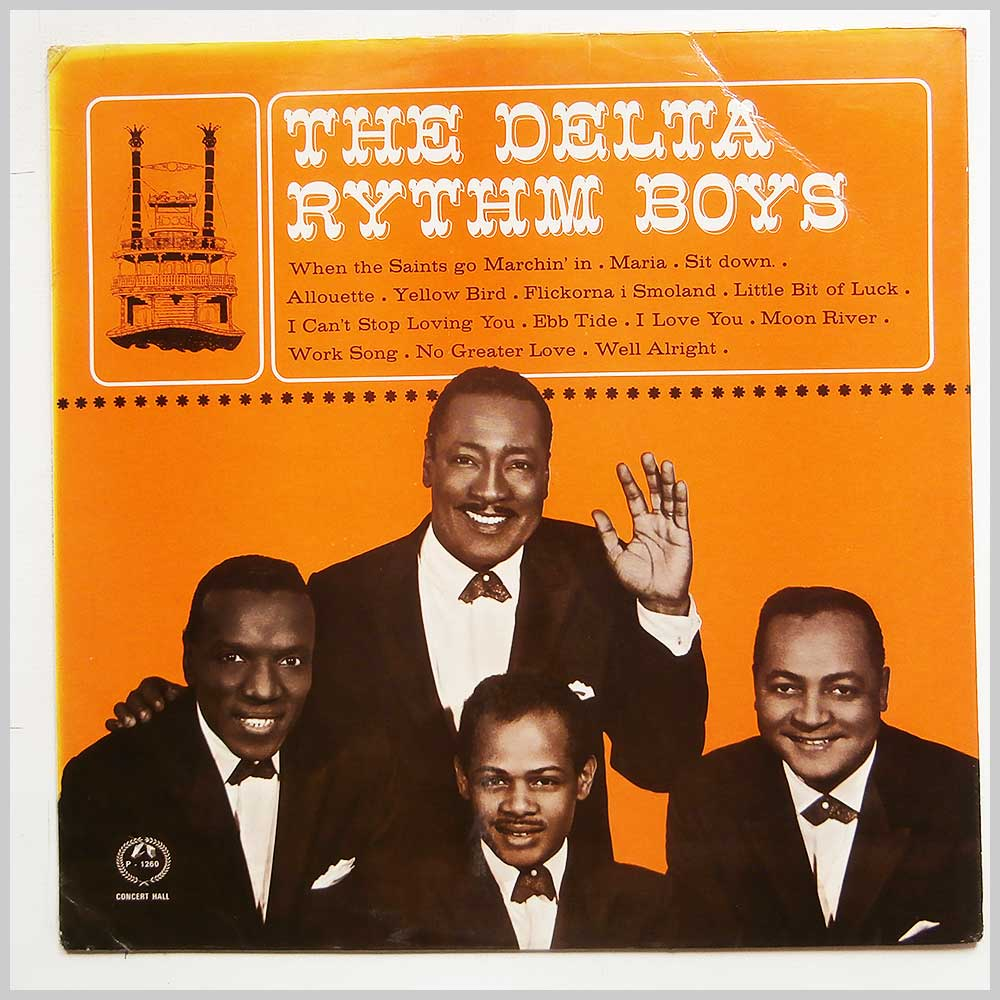 THE DELTA RHYTHM BOYS - The Delta Rhythm Boys - 33T