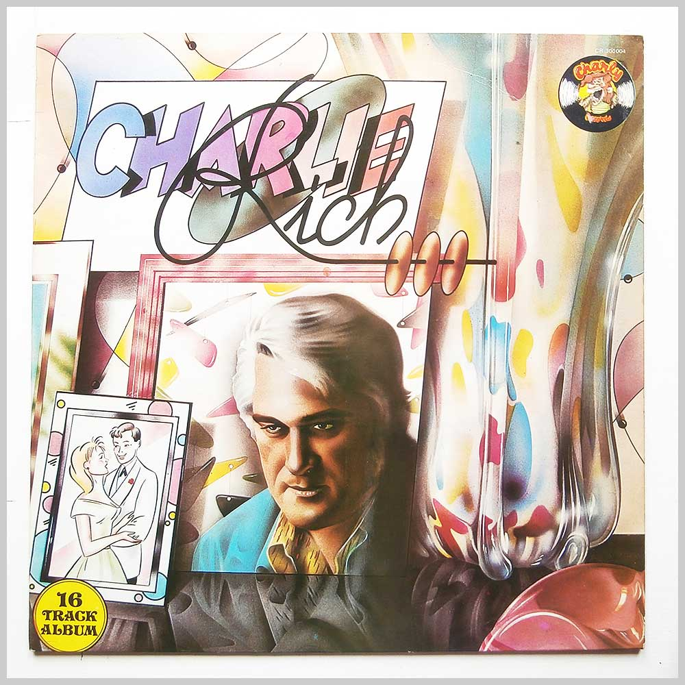 Charlie Rich - Lonely Weekends (CR 300 004)