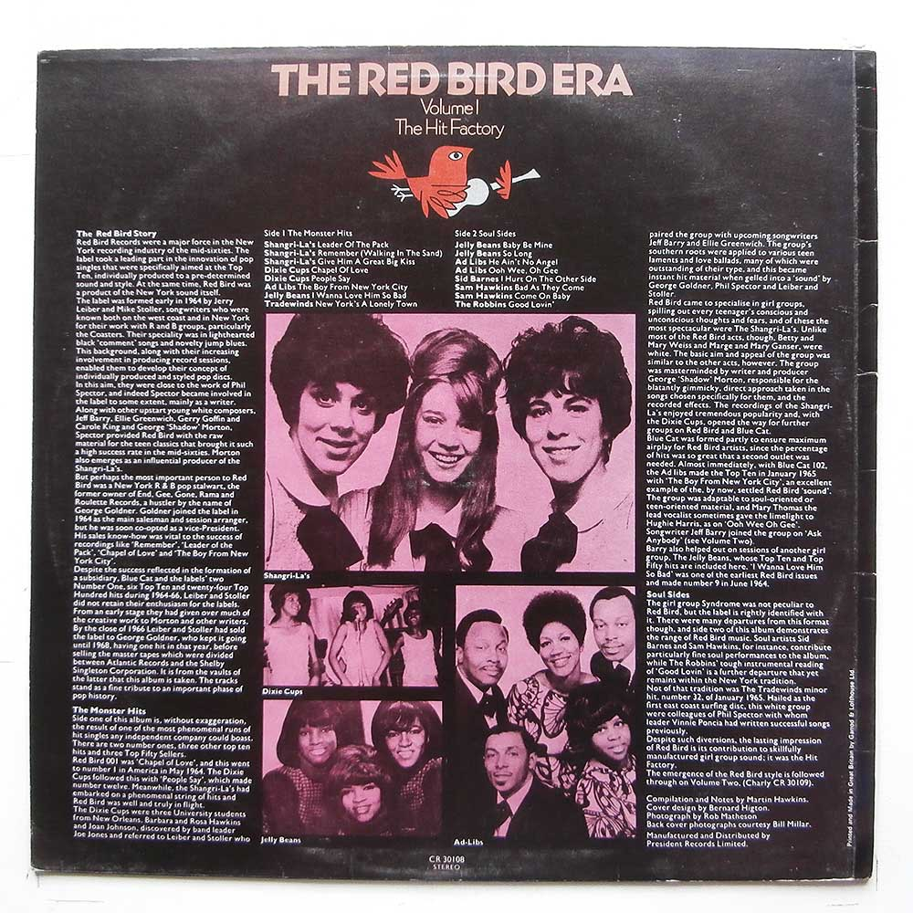 Various - The Red Bird Era Volume 1: The Hit Factory (CR 30108)