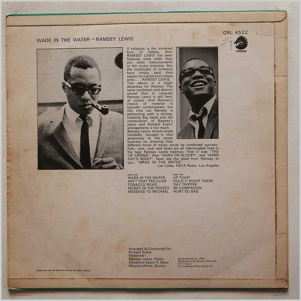 Ramsey Lewis - Wade in The Water (CRL 4522)
