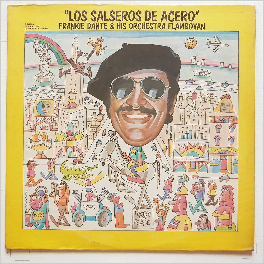 Frankie Dante and His Orchestra Flamboyan - Los Salseros De Acero (CS-1086)