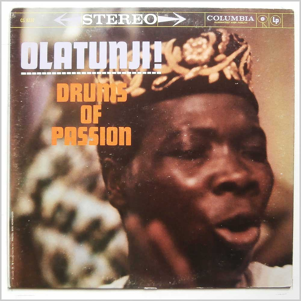 Olatunji! - Drums Of Passion (CS 8210)