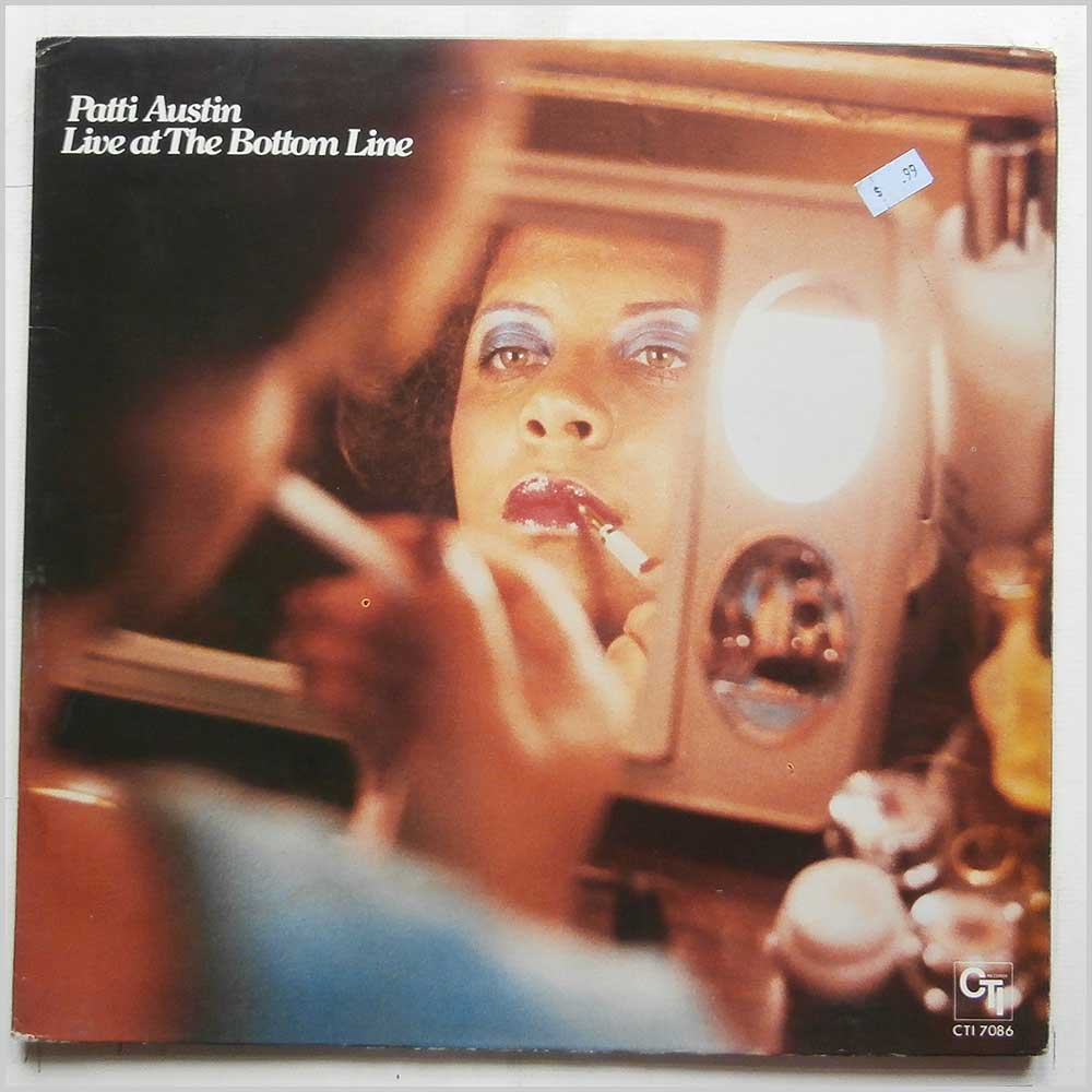 Patti Austin - Live At The Bottom Line - rare music LP records for sale