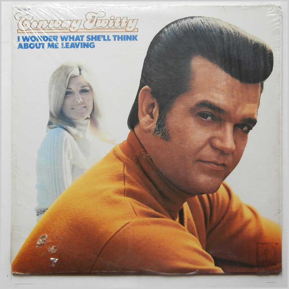 Conway Twitty - I Wonder What She'll Think About Me Leaving (DL 75292)