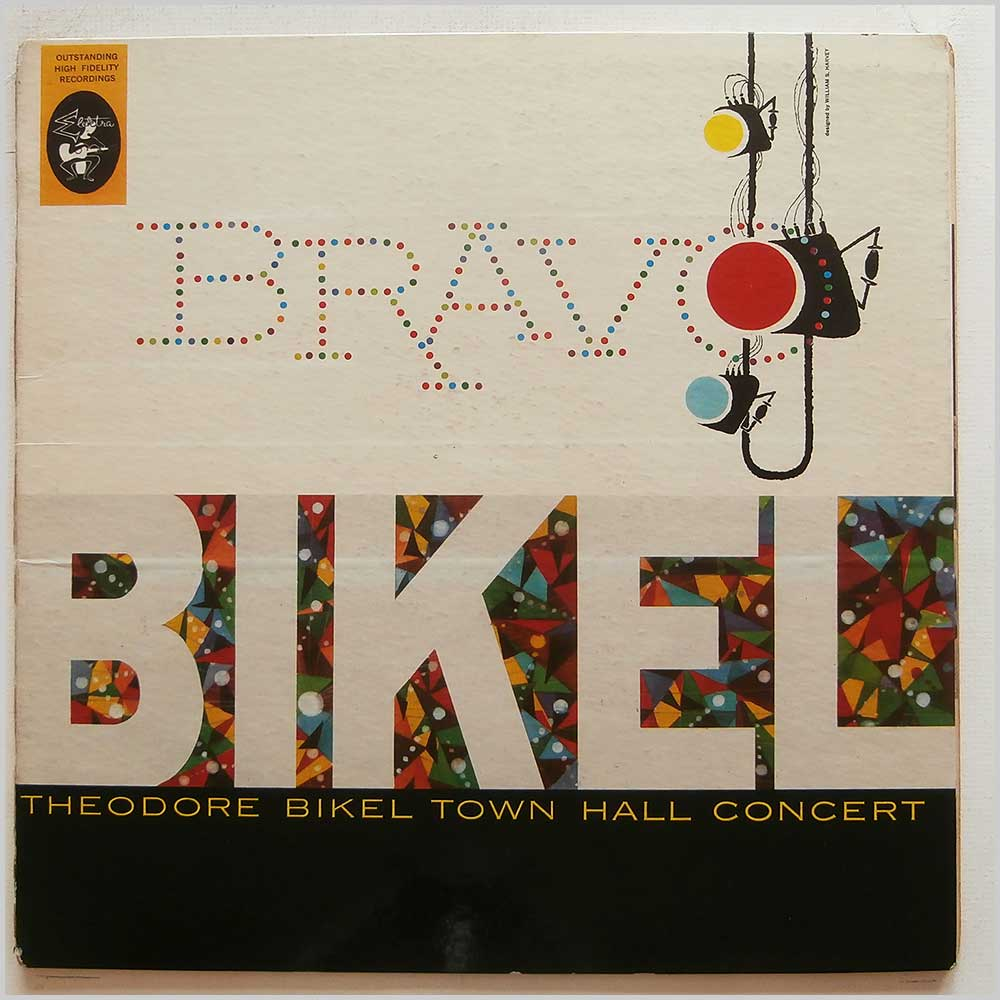 Theodore Bikel - Bravo Bikel - rare music LP records for sale