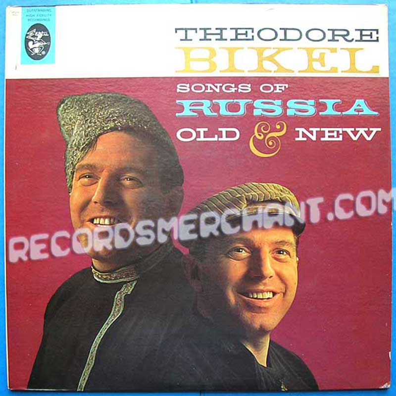 Theodore Bikel - Songs Of Russia Old And New (EKL 185)