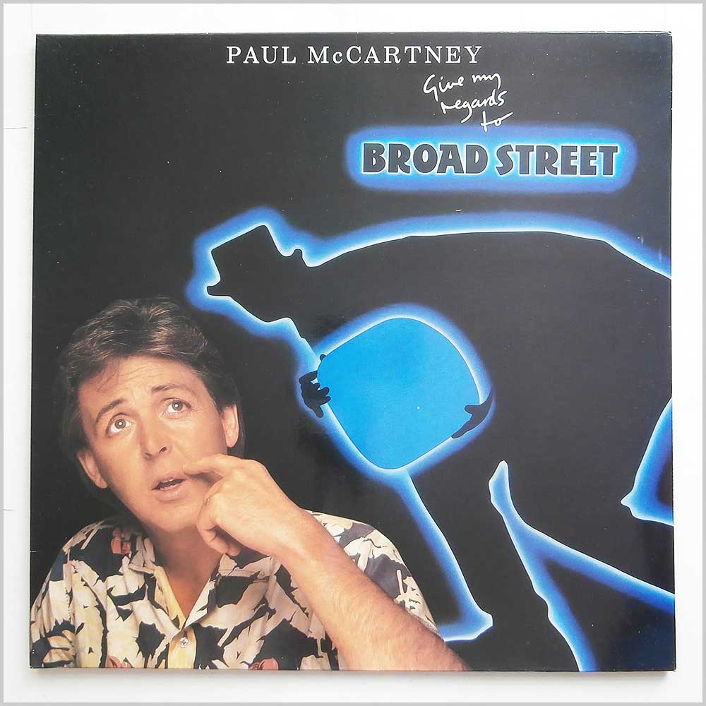 Paul McCartney - Give My Regards To Broad Street (EL 26 0278 1)