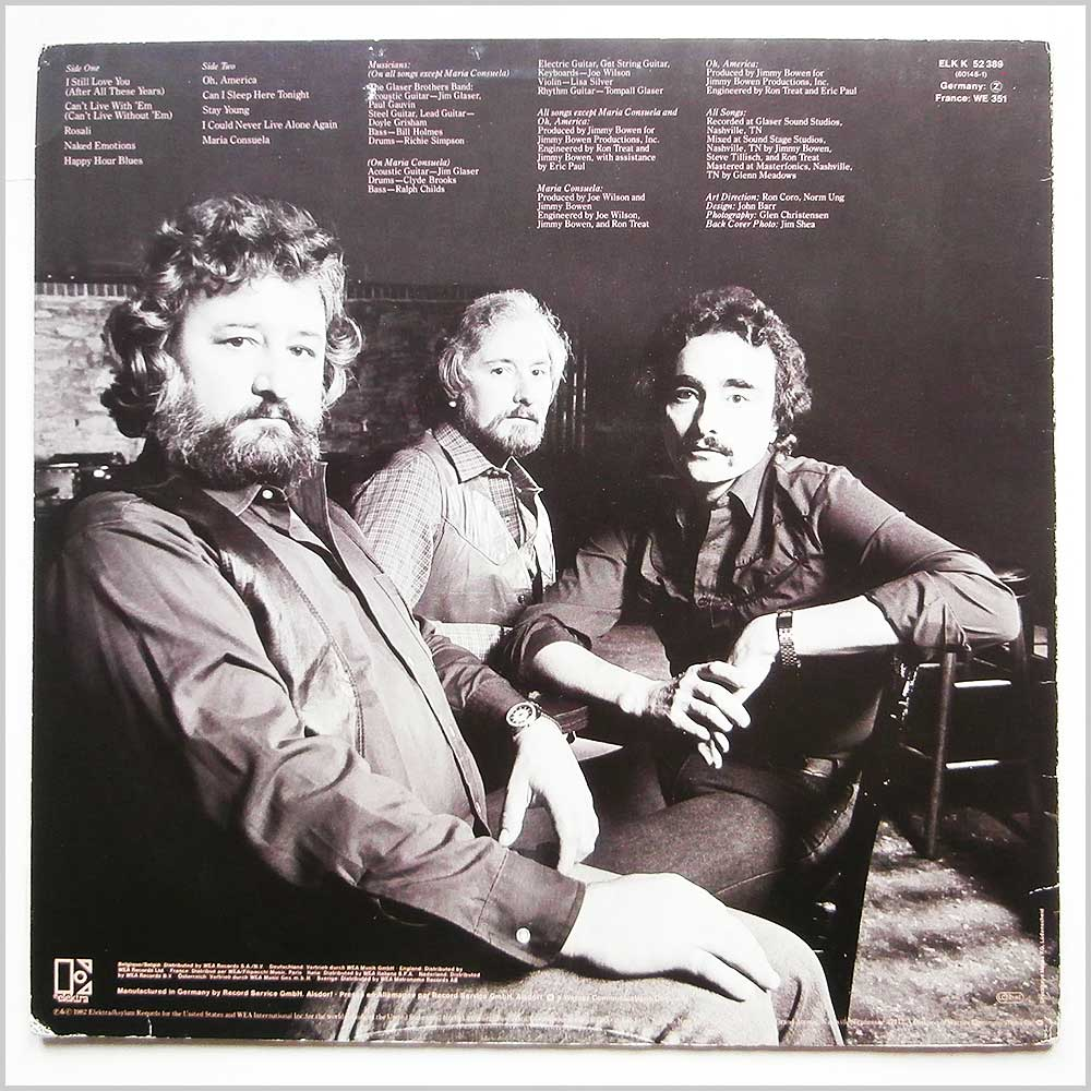 Tompall and The Glaser Brothers - After All These Years (ELK 52 389)