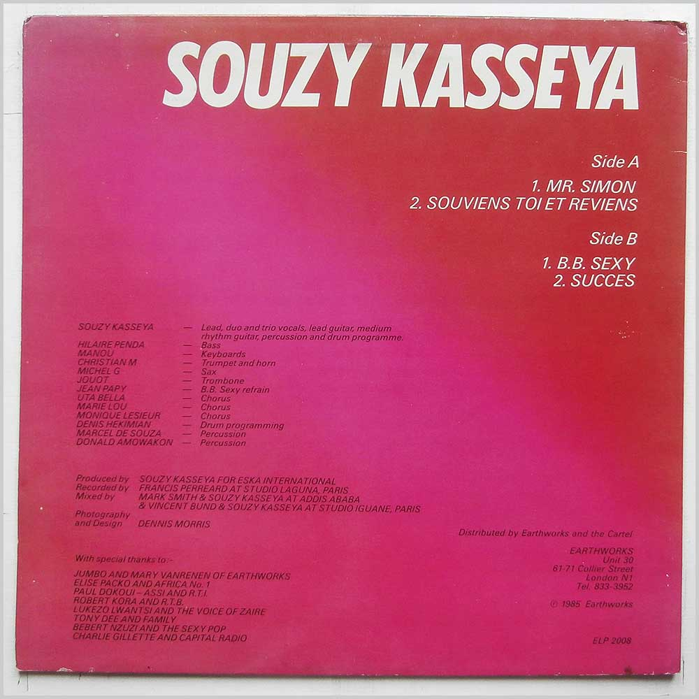 Souzy Kasseya - The Phenomenal Souzy Kasseya (ELP 2008)