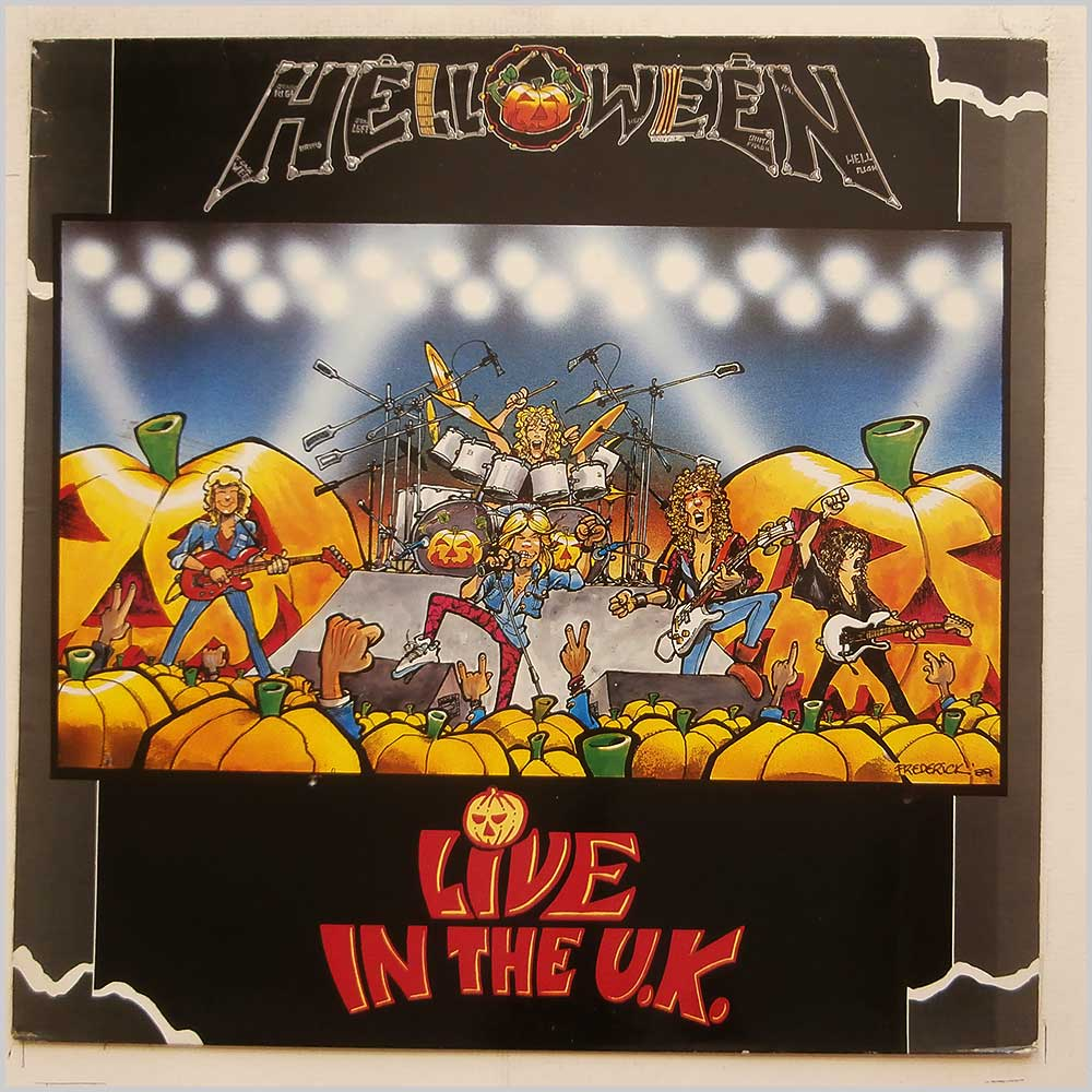 Helloween - Live In The UK (EMC 3558)
