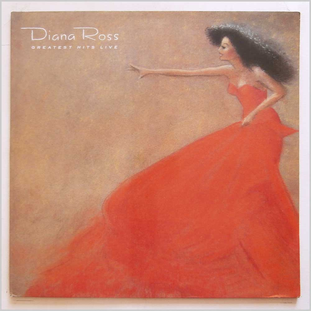 Diana Ross - Greatest Hits Live (EMDC 1001)