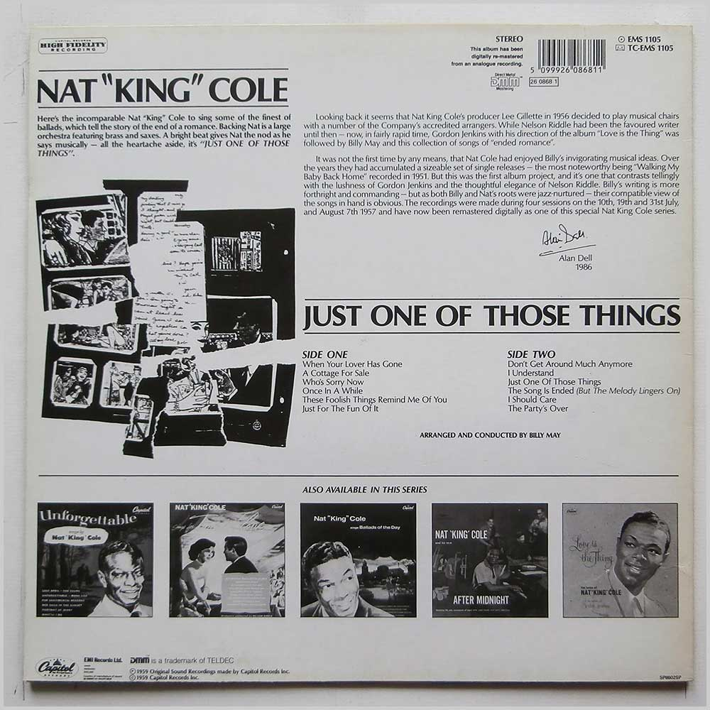 Nat King Cole - Just One Of Those Things (EMS 1105)