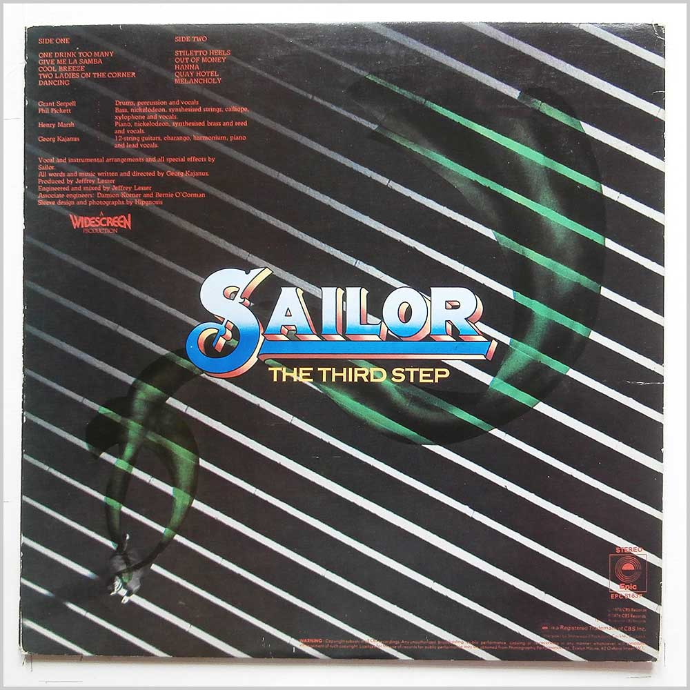 Sailor - The Third Step (EPC 81637)