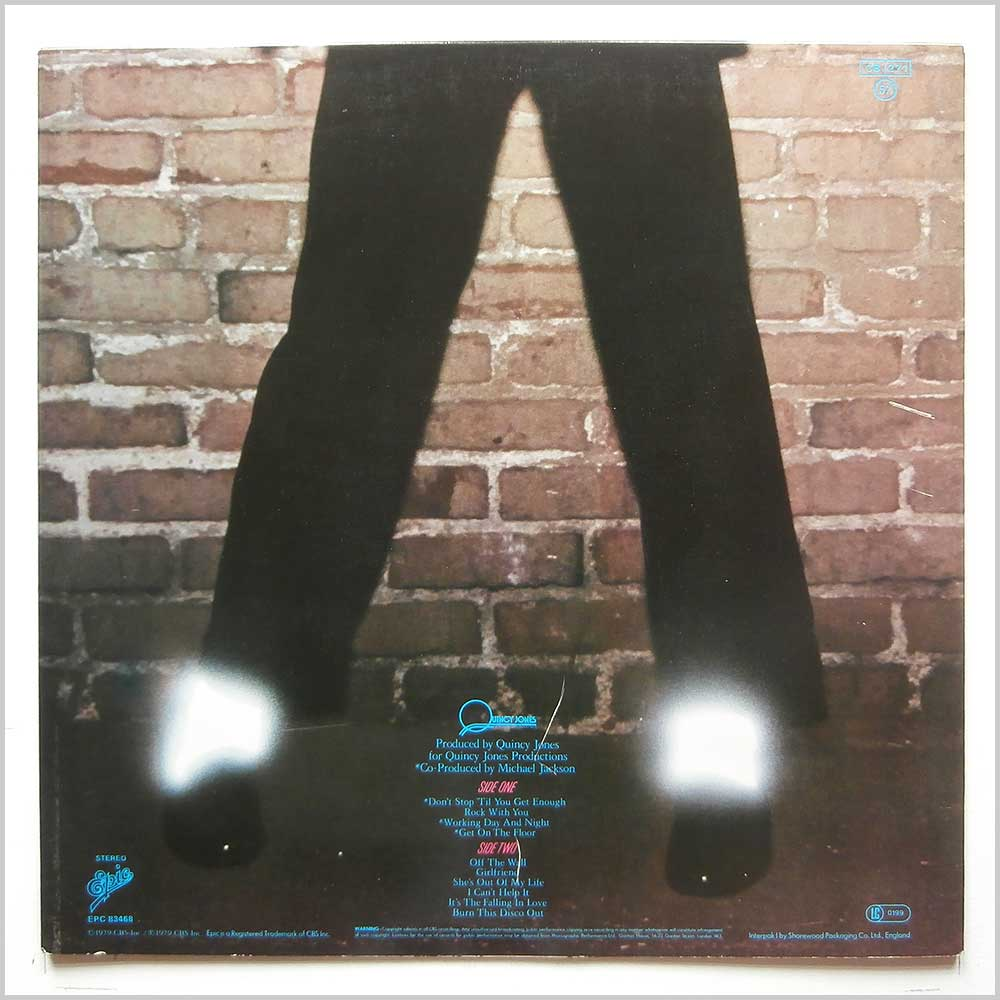 Michael Jackson - Off The Wall (EPC 83468)