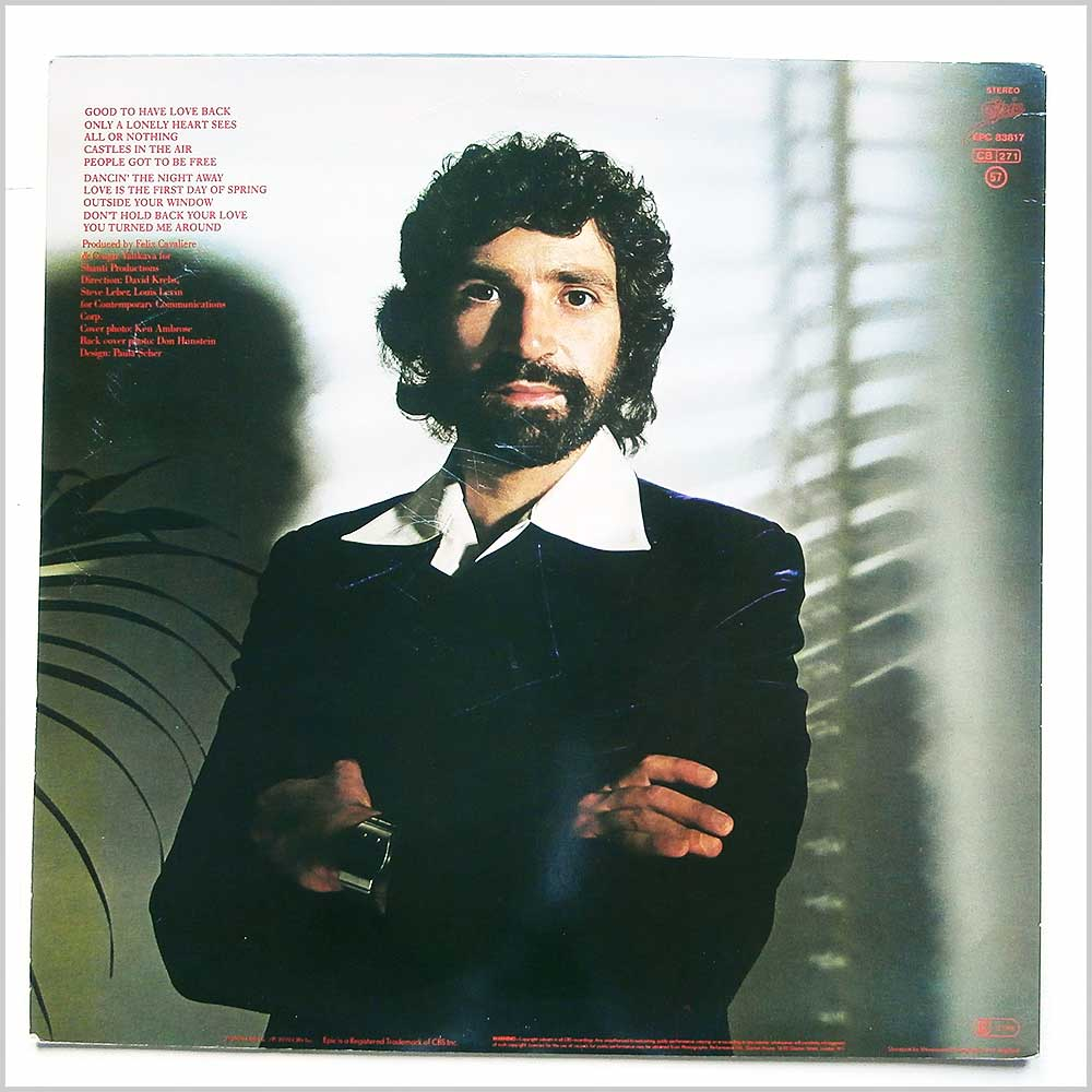 Felix Cavaliere - Castles In The Air (EPC 83817)