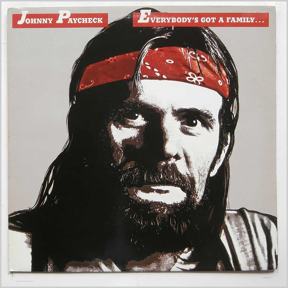 Johnny Paycheck - Everybody's Got A Family Meet Mine (EPC 84112)