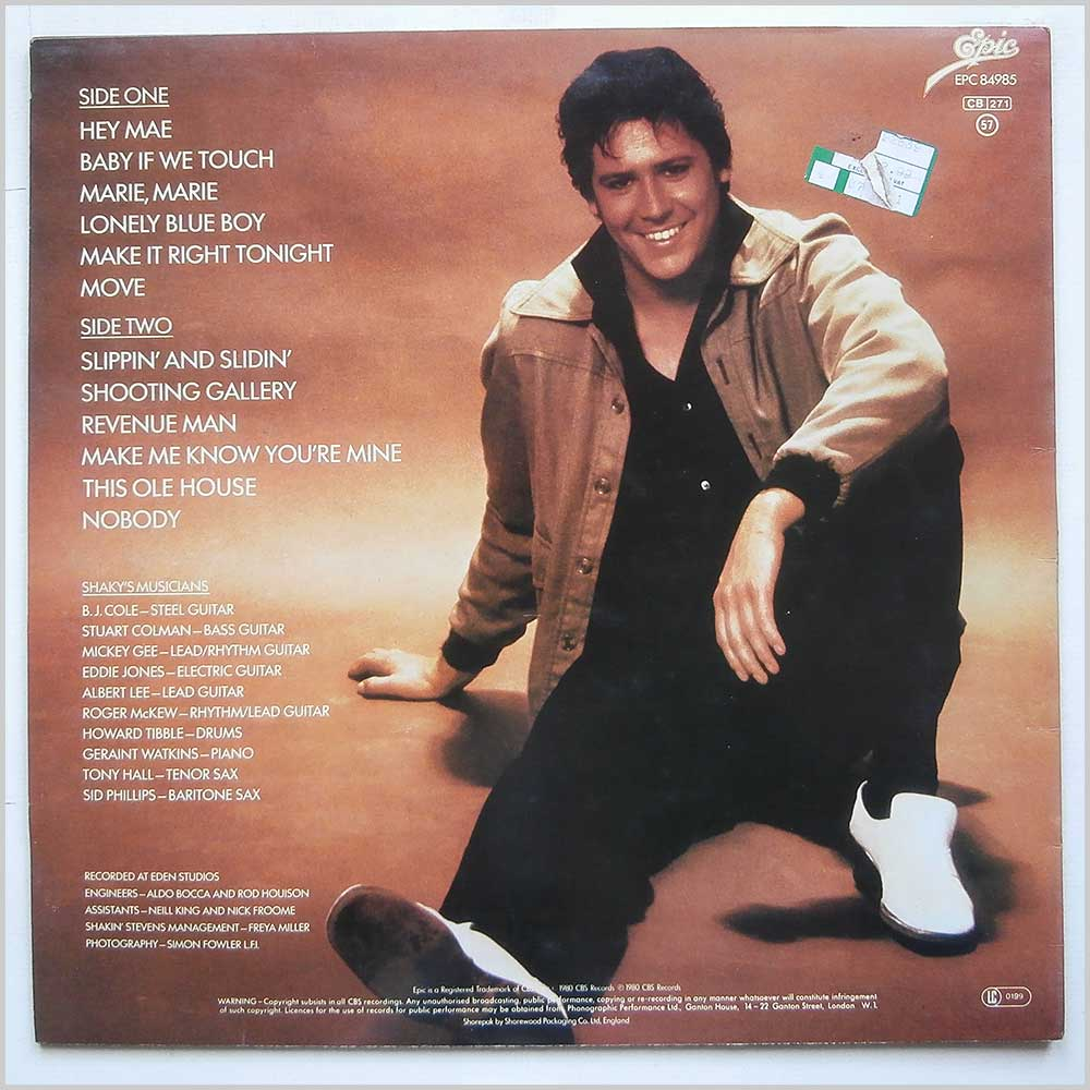 Shakin Stevens - This Ole House (EPC 84985)