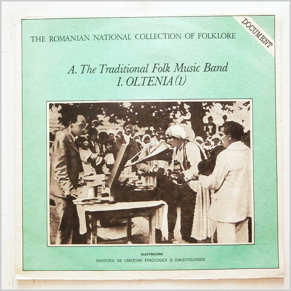 Various - The Traditional Folk Music Band: I. Oltenia (1) (EPE 02095)